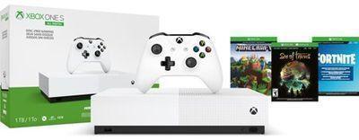 Microsoft Xbox One S 1TB All Digital Edition 3 Game Bundle