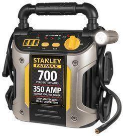 STANLEY FATMAX 700/350 Amp Jump Starter w/120 PSI Compressor