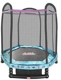 L.O.L. Surprise! 7' Enclosed Trampoline w/ Safety Net