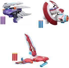 3x Marvel Avengers Nerf Guns