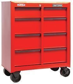 CRAFTSMAN 1000 Series Steel Rolling Tool Cabinet (Red)