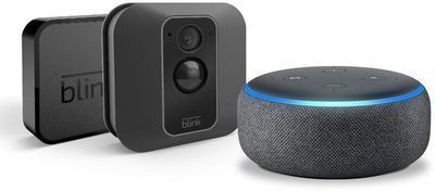 Blink XT2 Outdoor/Indoor Smart Security Camera w/ Echo Dot