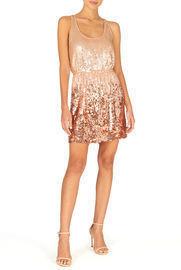 Full Sequin Ombre Dress