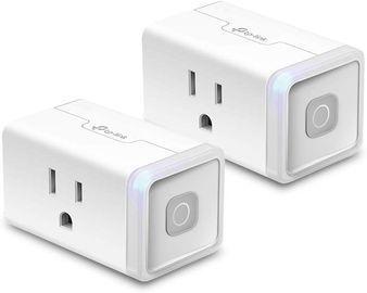 2-Pack TP-Link Kasa HS103P2 Smart Wi-Fi Plug Lite