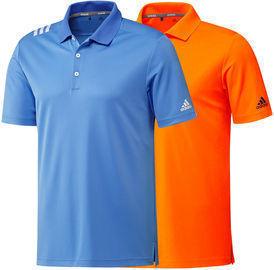 adidas Men's 3-Stripe Polo Golf Shirt