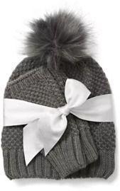 Hat & Glove Set or Scarf & Glove Set