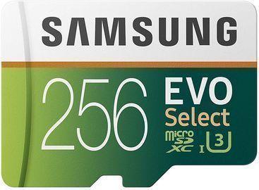 Samsung 256GB U3 Micro SD Card w/ Adapter