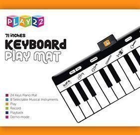 Play22 Keyboard Playmat 71 - 24 Keys Piano Play Mat