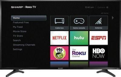 Sharp LC-50LBU711U 50 LED 4K HDTV + Google Nest Mini