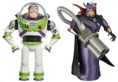Toy Story Buzz Lightyear + Emperor Zurg Action Figures