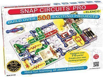 Snap Circuits Pro SC-500 Electronics Exploration Kit