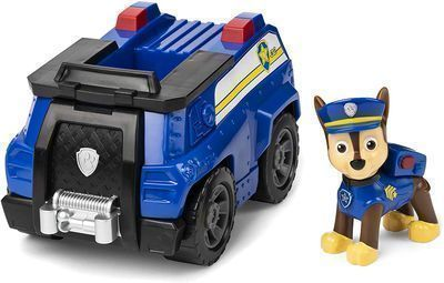 Paw Patrol Chase's Patrol Cruiser Vehicle w/ Figure
