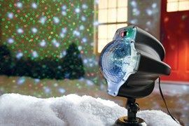 Night Stars Snowfall LED Laser Light