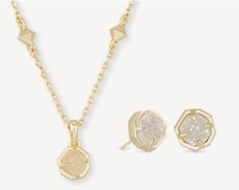 Kendra Scott - $75 Select Necklace & Stud Earring Sets