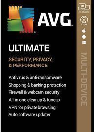 AVG Ultimate (10 Devices) (1-Year Subscription)