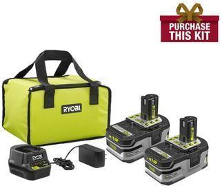 Ryobi 18-Volt ONE+ LITHIUM+ HP 3.0 Ah Battery Kit w/ Charger