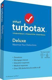TurboTax Tax Software Deluxe + State 2019 [Amazon Exclusive]