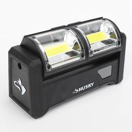 Husky 500 Lumens LED Dual-Panel Utility Light