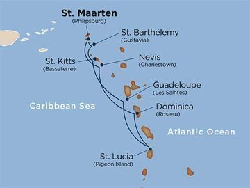 7-Nt Caribbean Tall-Sail Ship Cruise