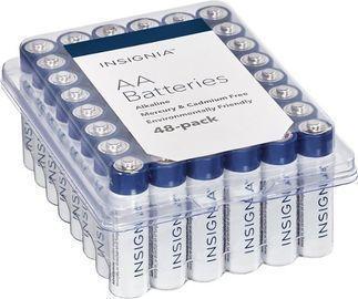 Insignia AA Batteries - 48pk