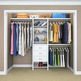ClosetMaid Impressions Basic Plus Closet System
