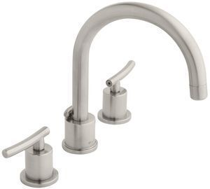 Dorset 8 in. Widespread 2-Handle High-Arc Bathroom Faucet