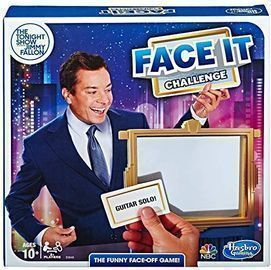 Hasbro The Tonight Show Face It Challenge Party Game