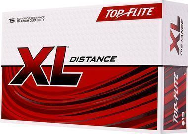 Top Flite 2019 XL Distance Golf Balls, 15 Pack