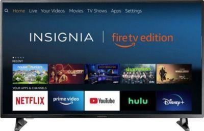 Insignia NS-50DF710NA19 50 4K HDTV + Echo Dot