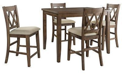 Oliver 5-Piece Counter-Height Dining Set by Home Meridian