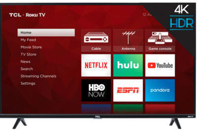 TCL 43S425 43 Roku 4K Ultra HD LED Smart TV