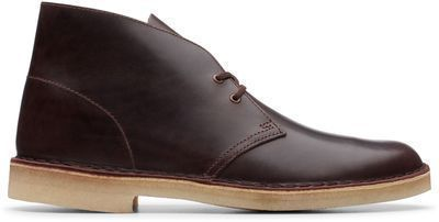 Desert Boots, Chestnut Leather