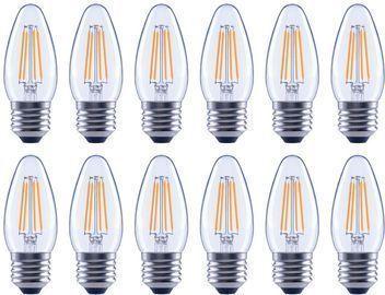 EcoSmart 40W Equivalent B11 Vintage Style LED Bulb, 12pk
