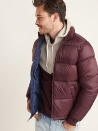 Men's Frost-Free Quilted Puffer Zip Jacket