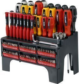 Ironton 100-Pc Screwdriver Set with Rack