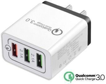 USB Fast Quick Charger Power Adapter