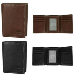 Timberland Hunter Trifold Wallet (Natural Grain Leather)