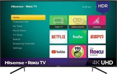 Hisense 55 (2160P) 4K Smart LED TV (55R6E) w/ HDR & Roku