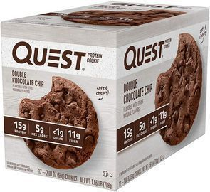 Quest Nutrition 12ct Double Chocolate Chip Protein Cookie