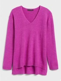 Extra 50% Off Clearance | Women's Bright Cozy V-Neck Sweater