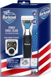 Barbasol Rechargeable Power Single Blade Wet/Dry Shaver