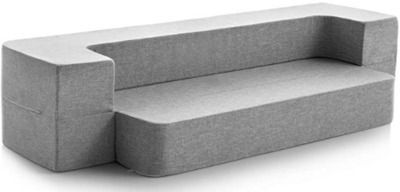 Lucid 8 Convertible Foam Sofa and Foldable Play Mat