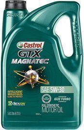 Castrol GTX MAGNATEC 5W-30 Synthetic Motor Oil, 5 Quarts