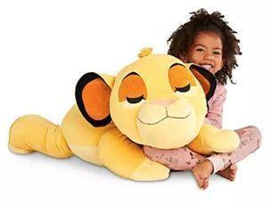 Simba Cuddleez Jumbo Plush - 30