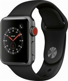 Apple Watch Series 3 (GPS + Cellular) 38mm Space Gray