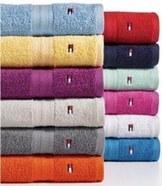 Tommy Hilfiger All American II Cotton Bath Towels