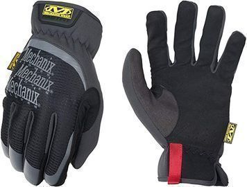 Mechanix Wear FastFit Work Gloves (Large, Black)