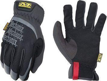 Mechanix Wear FastFit Work Gloves (Large, Black)