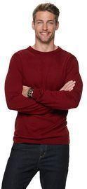 Men's Apt. 9 Merino Wool-Blend Crewneck Sweater