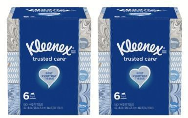 12pk of Kleenex Facial Tissues